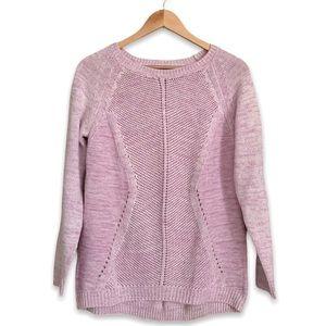 Love & Liberty Pastel Pink Knit Sweater Size Small